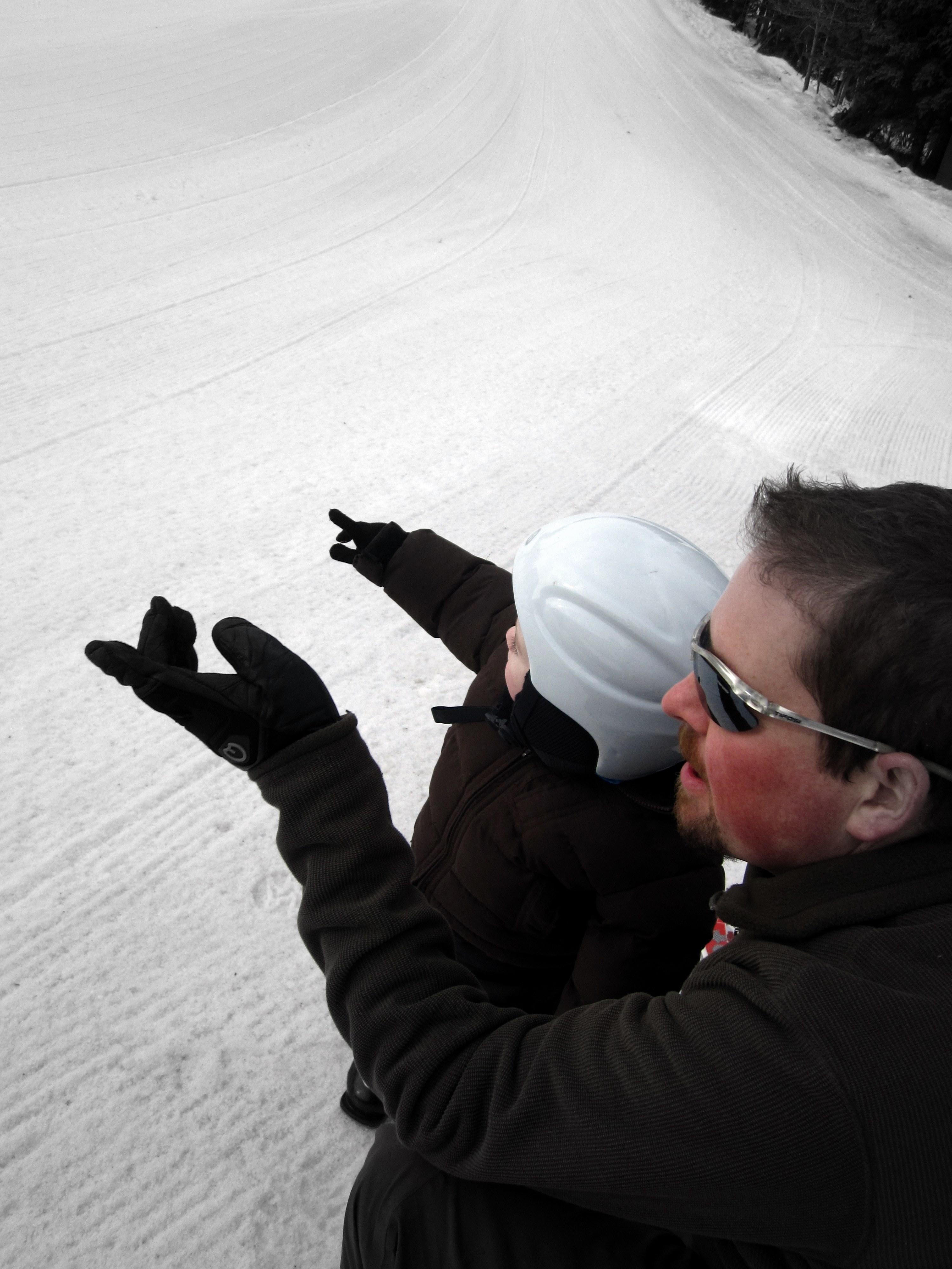Watching Skiers
