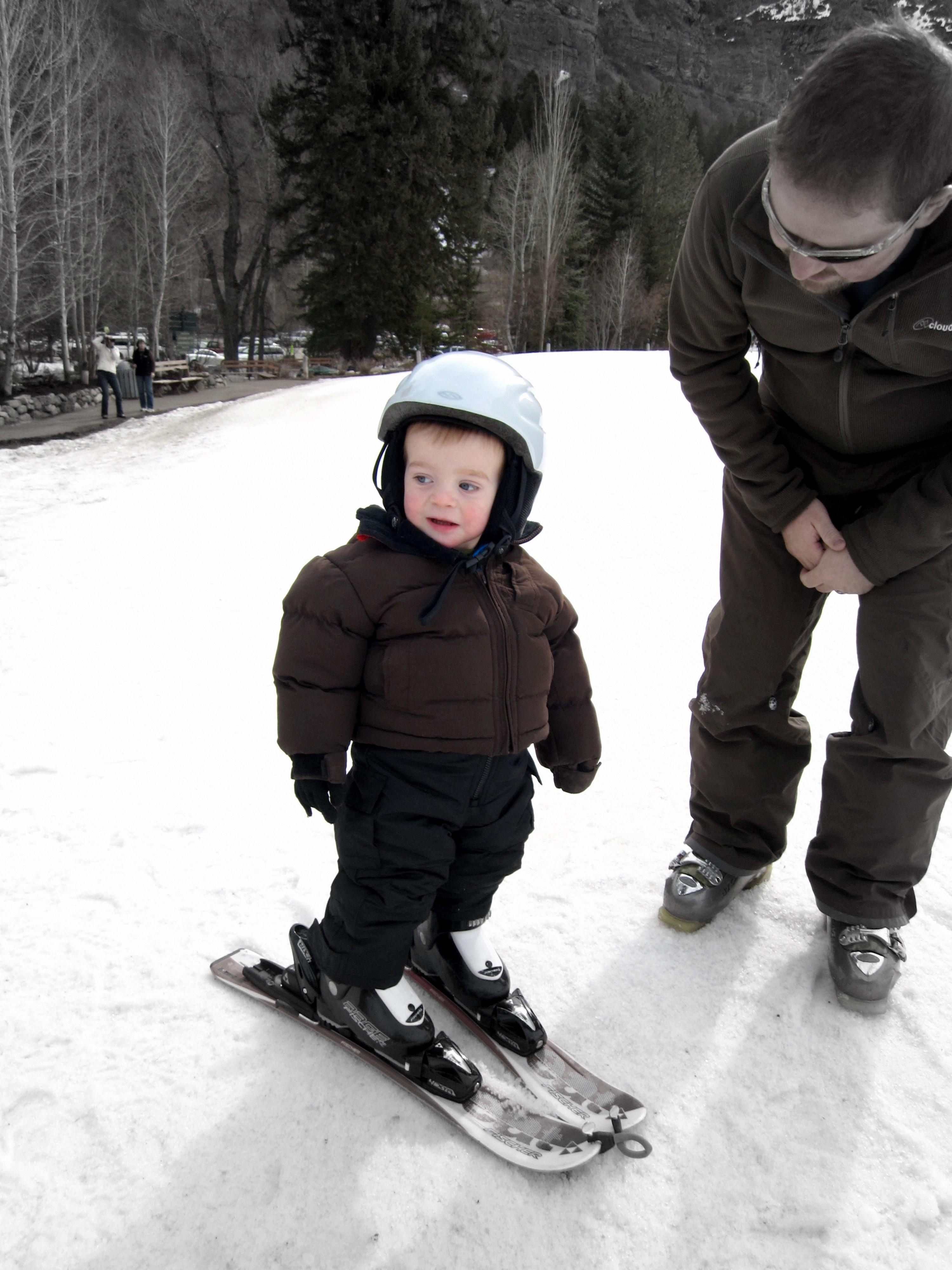 Sol on Skis